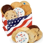 Patriotic Gourmet Gift Box of Cookies
