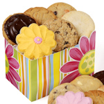 Springtime Celebration Daisy Cookie Box