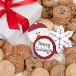 Happy Holiday Gourmet Cookie Box