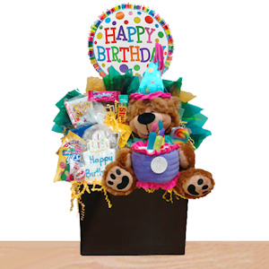 Birthday Bear Candy Gift image