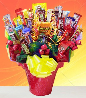Snack Attack Candy Bouquet image