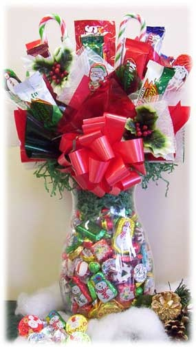 Christmas Candy Bouquet Jar image