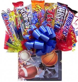 Sports Fanatic Candy Bar Bouquet image