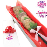 Long Stem Love Cookie Box