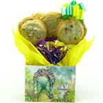 Spring Garden Floral Cookie Bouquet