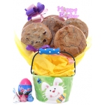 Easter Bunny Pail Cookie Bouquet