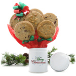 Merry Christmas Tall Cookie Tin
