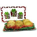 Holiday Presents Cookie Platter Gift