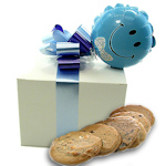 It's a Boy Cookie Gift Box with Balloon