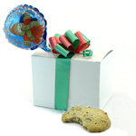 Holiday Gourmet Cookie Gift Box with Balloon