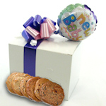It's a Girl Cookie Gift Box with Balloon