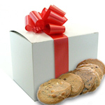 Gourmet Cookie Gift Box with Bow