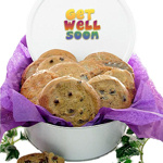 Get Well Gourmet Cookie Tin