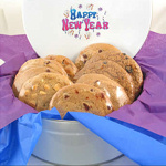 Happy New Year Gourmet Cookie Tin