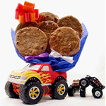 Monster Truck Kids Cookie Bouquet