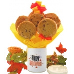 Halloween Tin Cookie Bouquet