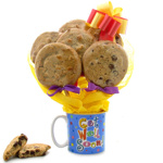 Cookie Get Well Mug Bouquet
