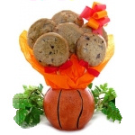 Basketball Cookie Arrangement
