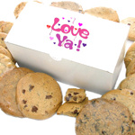 Message of Love Gourmet Cookie Box