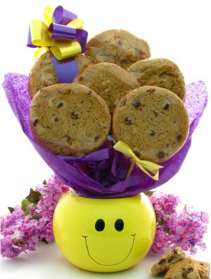 Smiley Face Cookie Gift Planter image