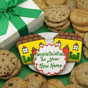 New Home Cookie Gift Box Delete image