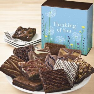 Thinking of You Brownie Sampler Gift Box image