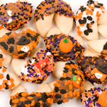 Halloween Decorated Gourmet Fortune Cookies