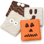 Halloween Ghoulish Grahams Favors