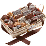 Chocolate Covered Dessert Basket (30 Piece)