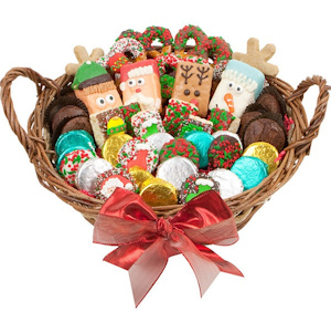 Holiday Gourmet Cookie Basket image