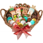 Holiday Gourmet Cookie Basket