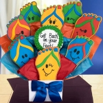 Get Well Cookie Bouquet - Back on your Feet
