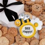 Bee Happy Gourmet Cookie Gift Box