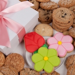 Daisies and Roses Gourmet Cookie Gift Box