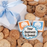 Custom Company Logo Cookie Gift Box