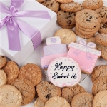 Sweet Sixteen Gourmet Cookie Gift Box