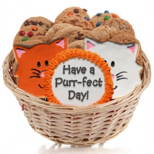 Cat Cookie Gift Basket image