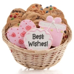 Wedding Cookie Gift Basket