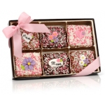 Mother's Day Belgian Chocolate Grahams Gift Box