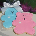 Baby Bear Shower Cookie Favors (2 Colors)
