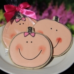 Baby Faces Cookie Party Favors (Boy or Girl)