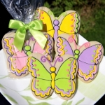 Colorful Butterfly Cookie Party Favors (4 Colors)