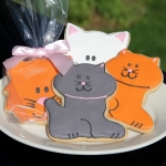Cat Cookie Party Favors (6 Designs)