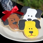 Dog Cookie Party Favors (3 Colors)