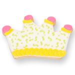 Crown Cookie Party Favor