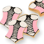 Corset Cookie Party Favor