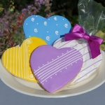Heart Shaped Cookie Party Favors (4 Colors)