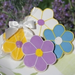 Daisy Cookie Party Favors (4 Colors)