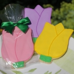 Tulips Cookie Party Favors (3 Colors)