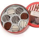 Belgian Chocolate Drenched Oreos Tin